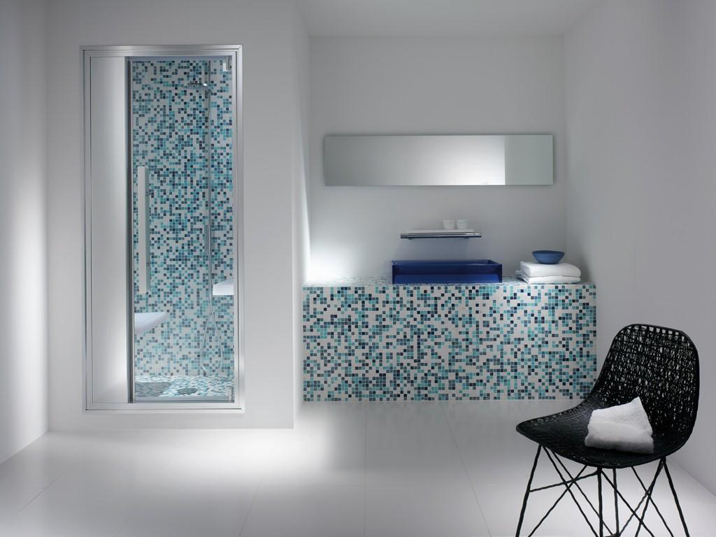 Home mooi badkamers - Bagno muratura mosaico ...